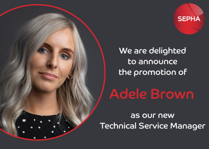 Adele Brown Technical Service Manager Sepha