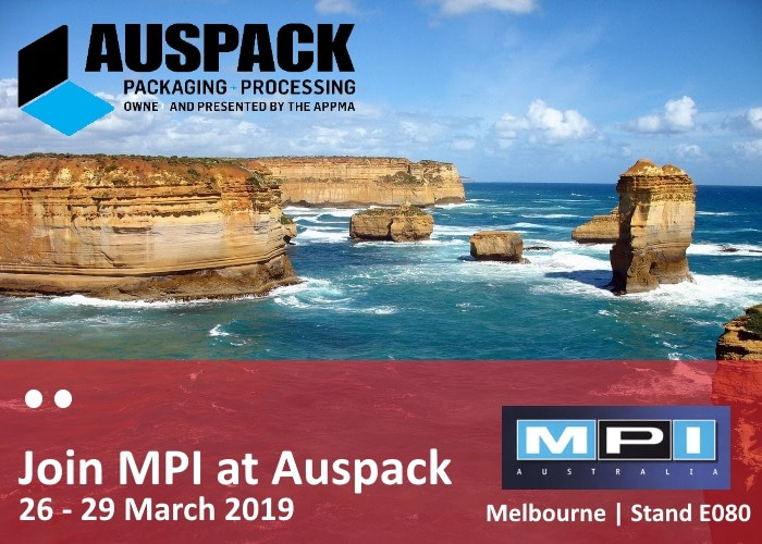 Talk to our partner MPI Australia at Auspack 2019