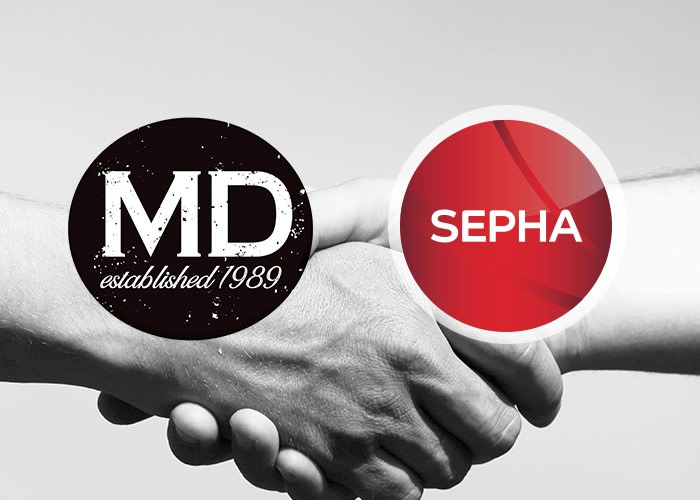 Sepha joins forces with MD Packaging in Canada